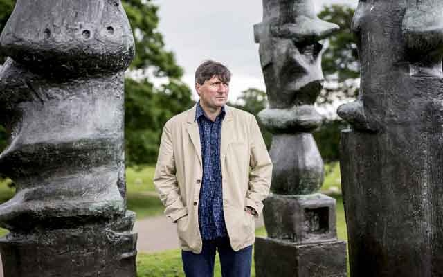 FILE -- Simon Armitage at the Yorkshire Sculpture Park at Bretton, in England, June 26, 2015. Armitage is the 21st poet laureate of the United Kingdom — officially appointed by Queen Elizabeth II and named on May 10, 2019 in a news release from the Department of Digital, Culture, Media and Sport. (Andrew Testa/The New York Times)
