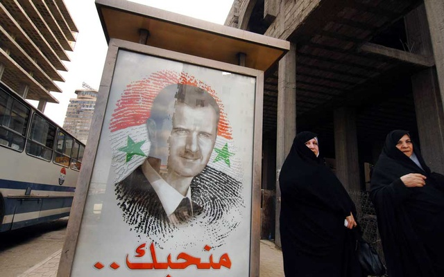 A poster of President Bashar Assad in Damascus, Syria, on May 11, 2007. The Syrian government has denied the existence of systematic abuse. However, newly discovered government memos show that Syrian officials who report directly to Assad ordered mass detentions and knew of atrocities. The New York Times