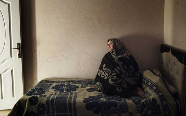 Mariam Khleif, a mother of five, in her apartment in Reyhanli, Turkey, Jan. 22, 2019. Khleif said she was repeatedly raped during a month in prison in Syria. Women and girls have been raped and sexually assaulted in at least 20 of the country's intelligence branches, and men and boys in 15 of those, a United Nations human rights commission reported last year. The New York Times