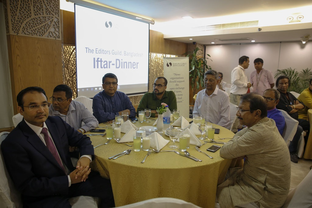 Launched by editorial leaders from across the news publishing industry five months ago, Editors Guild, Bangladesh organised its public event at the Lakeshore Hotel in Dhaka on Wednesday.