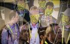 Attendees interact with a facial recognition demonstration during the Consumer Electronics Show in Las Vegas, Jan 8, 2019. The San Francisco board of supervisors has enacted the first ban by a major American city on the use of facial recognition technology by police and other municipal agencies. The New York Times