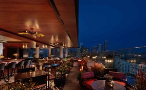 In a photo provided by Virgin Hotels San Francisco, Everdene, the 4,000-square-foot rooftop bar that has quickly become a local favourite at the Virgin Hotels San Francisco. The New York Times