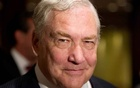 FILE PHOTO: Former media mogul Conrad Black arrives at a business luncheon in Toronto, Canada June 22, 2012. REUTERS