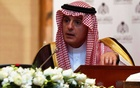 Saudi Arabia's Minister of State for Foreign Affairs Adel bin Ahmed Al-Jubeir speaks during a news conference with Russia's Foreign Minister Sergei Lavrov (not pictured) in Riyadh, Saudi Arabia March 4, 2019. REUTERS