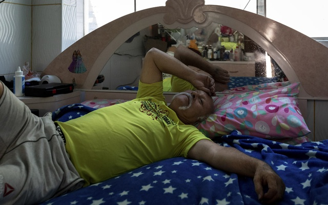 Abel Vela, a cabdriver who left his family in New York after struggling to repay his taxi medallion loan, in his room in Lima, Peru, Apr 30, 2019. Despite years of warning signs, agencies at every level of government did little to help New York taxi drivers as they became crushed under overwhelming debt. The New York Times