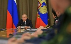 Russian President Vladimir Putin chairs a meeting on military aviation in Sochi, Russia May 15, 2019. REUTERS