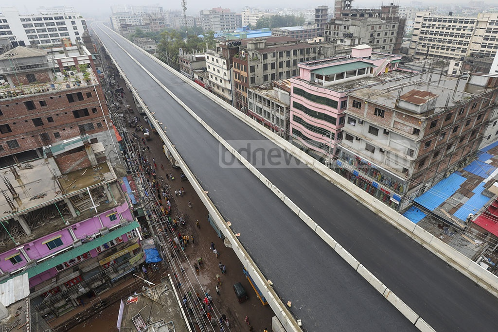 Prime Minister Sheikh Hasina is expected to inaugurate flyovers at Konabari and Chandra in Gazipur via video conferencing on Saturday ahead of the Eid-ul-Fitr.