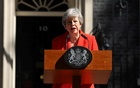 British Prime Minister Theresa May delivers a statement, in London, Britain, May 24, 2019. REUTERS