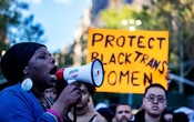 File Photo: Transgender rights activists protest the recent killings of three transgender women, Muhlaysia Booker, Claire Legato, and Michelle Washington, during a rally at Washington Square Park in New York, US, May 24, 2019. REUTERS