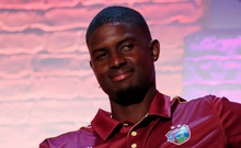 ICC Cricket World Cup - Captains Press Conference - The Film Shed, London, Britain - May 23, 2019 West Indies' Jason Holder during the press conference Action Images/Andrew Boyers/Pool
