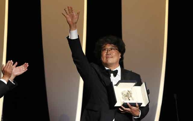 Director Bong Joon-ho, Palme d'Or award winner for his film