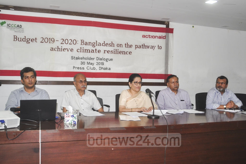 ActionAid, a non-government international organisation, held a pre-budget discussion at the National Press Club in Dhaka on Thursday.