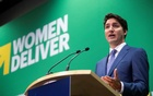 Canada's Prime Minister Justin Trudeau responds to a question about whether Canada's treatment of missing and murdered Indigenous women and girls amounting to genocide during a news conference after announcing a $1.4 billion annual commitment to support women's global health at the Women Deliver 2019 Conference at the Vancouver Convention Centre in Vancouver, B.C., Canada June 4, 2019. Reuters