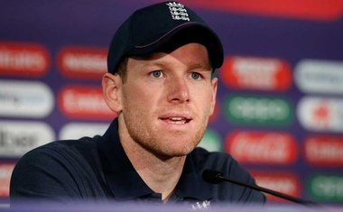 ICC Cricket World Cup - England v Australia - Lord's Cricket Ground, London, Britain - June 25, 2019 England's Eoin Morgan Action Images via Reuters/Paul Childs