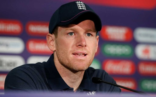 ICC Cricket World Cup - England Press Conference - Cardiff Wales Stadium, Cardiff, Britain - June 7, 2019 England's Eoin Morgan during the press conference Action Images via Reuters