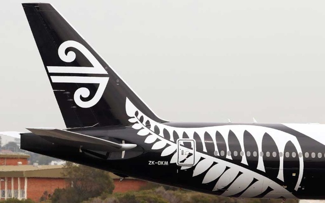 FILE PHOTO: An Air New Zealand Boeing 777-300ER plane taxis after landing at Kingsford Smith International Airport in Sydney, Australia, Feb 22, 2018. REUTERS