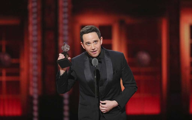 Santino Fontana wins best leading actor in a musical for
