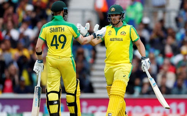 Finch powers Australia to imposing 334 against Sri Lanka