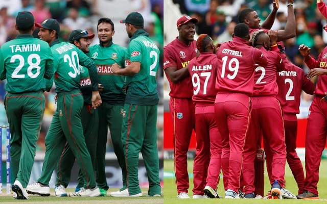 Bangladesh beat West Indies by seven wickets