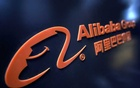 FILE PHOTO: A logo of Alibaba Group is seen at an exhibition during the World Intelligence Congress in Tianjin, China May 16, 2019. REUTERS