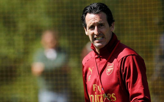 Arsenal Training Centre, St Albans, Britain - May 21, 2019 Arsenal manager Unai Emery during training Action Images via Reuters