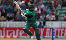 ICC Cricket World Cup - West Indies v Bangladesh - The County Ground, Taunton, Britain - June 17, 2019 Bangladesh's Shakib Al Hasan in action Action Images via Reuters