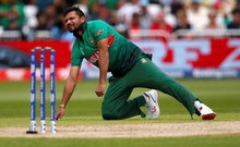 ICC Cricket World Cup - Australia v Bangladesh - Trent Bridge, Nottingham, Britain - June 20, 2019 Bangladesh's Mashrafe Mortaza Action Images via Reuters