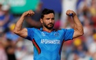 FILE PHOTO: Cricket - ICC Cricket World Cup - Afghanistan v Australia - The County Ground, Bristol, Britain - June 1, 2019 Afghanistan's Gulbadin Naib celebrates the wicket of Australia's Aaron Finch Action Images via Reuters