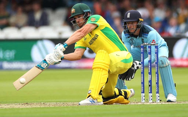 ICC Cricket World Cup - England v Australia - Lord's Cricket Ground, London, Britain - June 25, 2019 Australia's Aaron Finch in action Action Images via Reuters