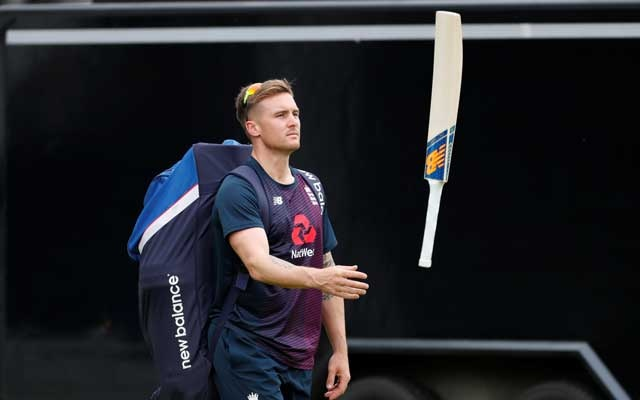 ICC Cricket World Cup - England Nets - Lord's Cricket Ground, London, Britain - June 24, 2019 England's Jason Roy during nets Action Images via Reuters
