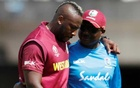 ICC Cricket World Cup - England v West Indies - The Ageas Bowl, Southampton, Britain - June 14, 2019 West Indies Andre Russell goes off injured Action Images via Reuters
