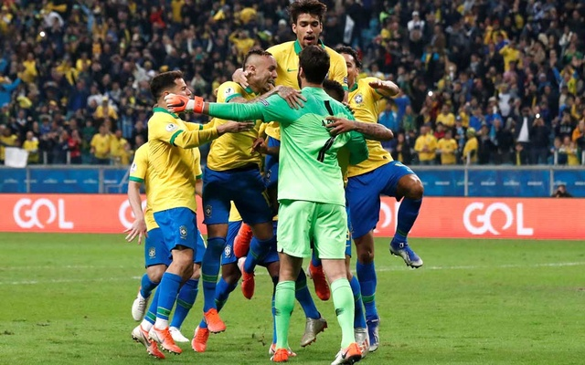 Image result for Brazil reach Copa semis with shootout win over Paraguay