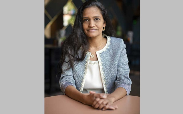 Jayasree Iyer, executive director of the Access to Medicine Foundation, in Amsterdam, Jun 21, 2019. The New York Times
