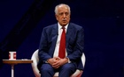 FILE PHOTO - US envoy for peace in Afghanistan Zalmay Khalilzad, speaks during a debate at Tolo TV channel in Kabul, Afghanistan Apr 28, 2019. REUTERS
