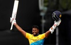 Fernando slams maiden century to propel Sri Lanka to 338-6 against Windies