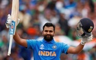 Rohit equals Sangakkara's record of most centuries at a single World Cup