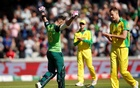 Warner heroics for Australia are in vain as defeat to S Africa sets up England semi-final