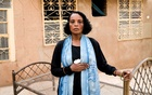 Khadija Saleh, 41, political activist and blogger, poses for a photograph in Khartoum, Sudan, Jun 28, 2019. After six years abroad, Saleh returned to her home country when people took to the streets demanding change. She was at a sit-in near the Defence Ministry in Khartoum on Jun 3 when security forces stormed the site. The area had become a centre for anti-government protests. Saleh said she was beaten with sticks, and still wears bandages on her wounds.