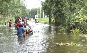 Over 200,000 people got stranded in Satakania Upazila of Chattogram as incessant rain and water from hills raises the Sangu River water level.