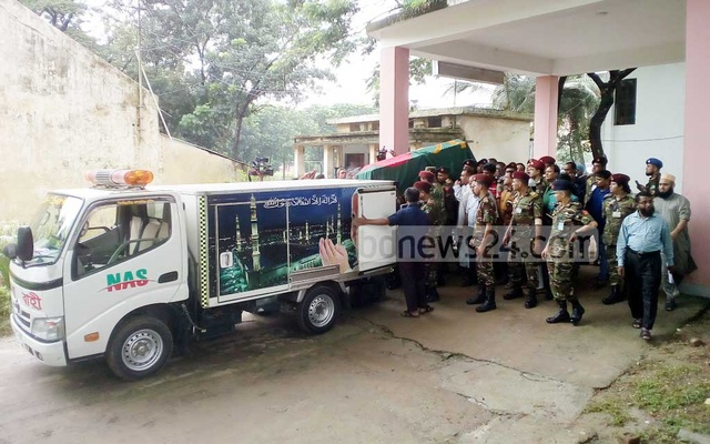 Rangpur people want Jatiya Party chief Ershad buried in his hometown