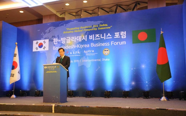 Korean PM praises Bangladesh's development