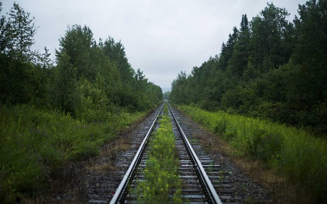 Railway tracks leading toward Lac-Mégantic, Quebec, the site of a horrific derailment, Jul 23, 2013. On July 6, 2013, 47 people were killed when the derailing train exploded and incinerated most of downtown Lac-Mégantic. The New York Times