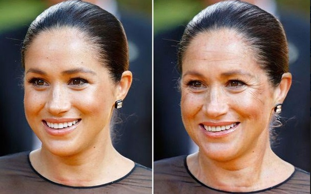 The FaceApp age challenge is giving a glimpse into the future as celebs share their twilight pictures - Mirror Online