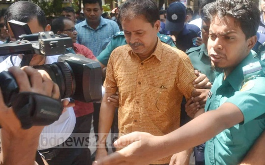 A Dhaka court sends suspended ACC director Khandaker Enamul Basir to jail in a bribery case on Tuesday.