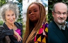 From left, Margaret Atwood, Oyinkan Braithwaite and Salman Rushdie. The New York Times
