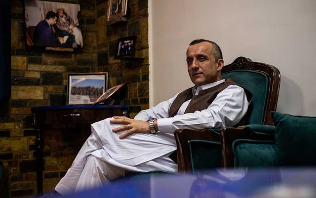 Amrullah Saleh, the former Afghan intelligence chief who is running for vice president, at his home in Kabul, Afghanistan, July 29, 2019. Saleh had just update his will about a week before he narrowly escaped a Taliban attack at his political headquarters that ensued for nearly seven hours ended in the deaths of about 30 people. The New York Times
