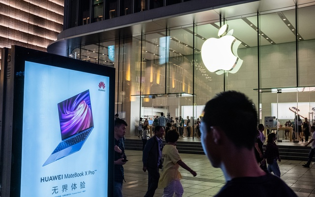 The Apple store in Shanghai, May 28, 2019. On Tuesday, July 30, 2019. The New York Times