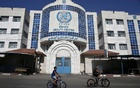 A health center run by the United Nations Relief and Works Agency in Gaza. The New York Times