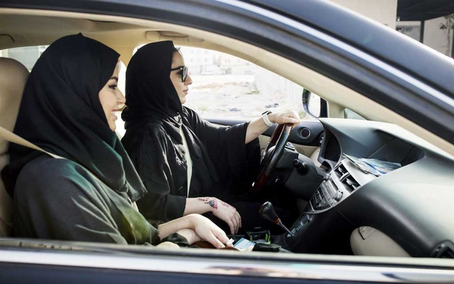 Women practice driving in Dammam, Saudi Arabia, June 17, 2018. Saudi Arabia announced new regulations on Aug. 2, 2019, that grant all Saudis over the age of 21 – regardless of gender – the right to handle family matters and their own affairs, while officials also said that all adults could obtain passports and travel on their own.
