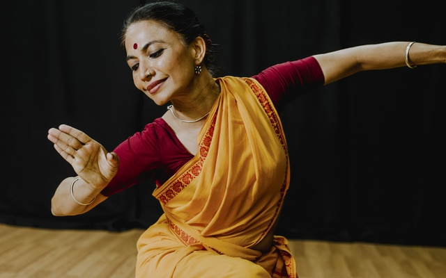 Bijayini Satpathy, one of the finest proponents of the classical Indian dance style Odissi, at Navatman Studios in New York, Jun 23, 2019. Satpathy will be performing an evening of solos in August at Drive East, a yearly festival of Indian classical music and dance. The New York Times